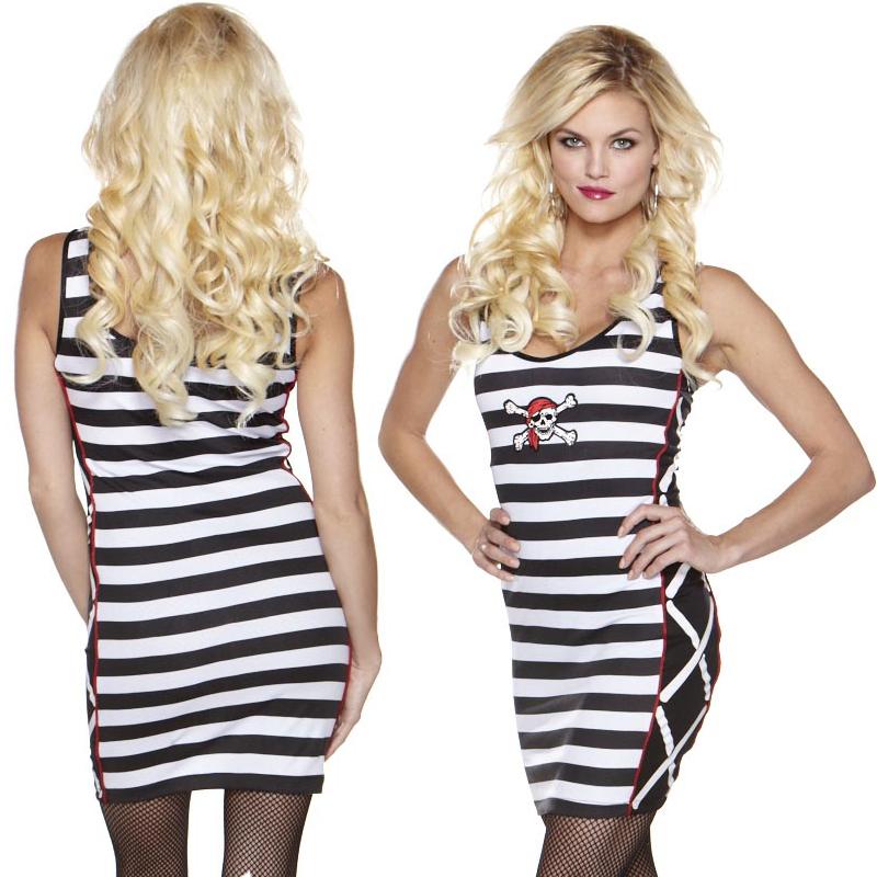 Pirate Dress Mini Dress Costume