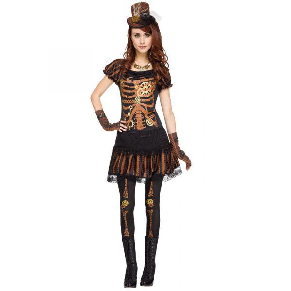 Skele Punk Steampunk costume dress