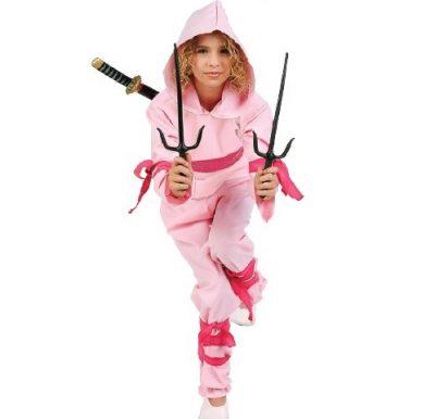 Pink Ninja Child's Costume