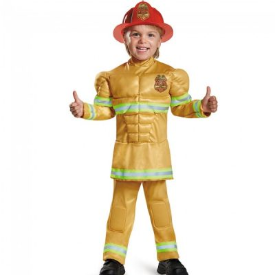 Fireman, Child's Fearless Muscle Costume