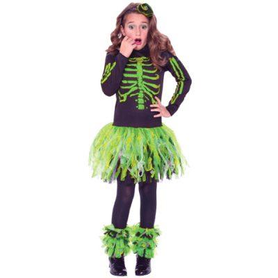 Skeletude Glitter Green