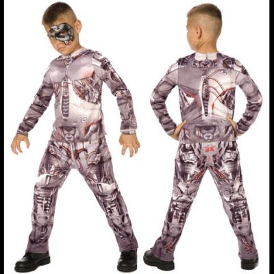 Cyborg child costume