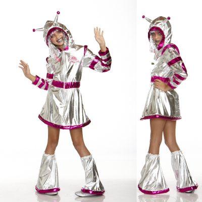 Space Alien Supernova Child Costume
