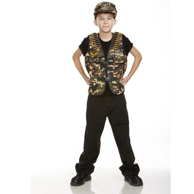 Army Child's Combat Captain Costume