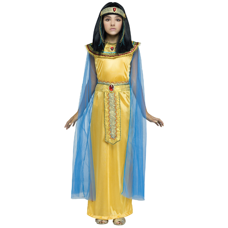 Golden Cleo Child Costume for Cleopatra