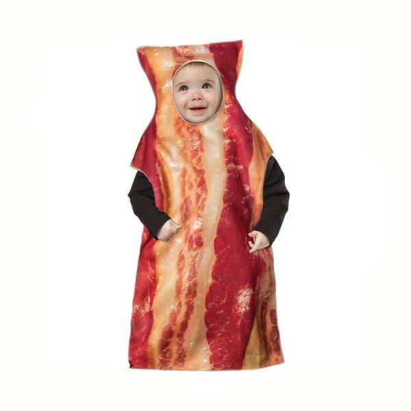 Bacon Costume Baby Bunting