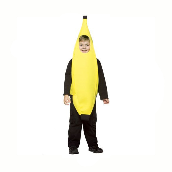 Banana Costume Child Size 4 - 6X  sc 1 st  Cappelu0027s & Banana Costume Two Sizes Infant Child - Cappelu0027s