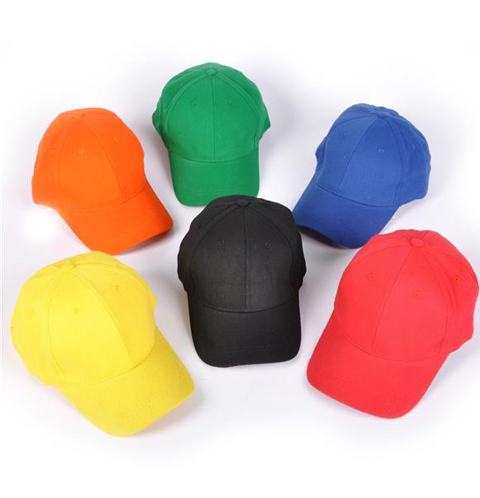 Adjustable Solid Color Baseball Caps