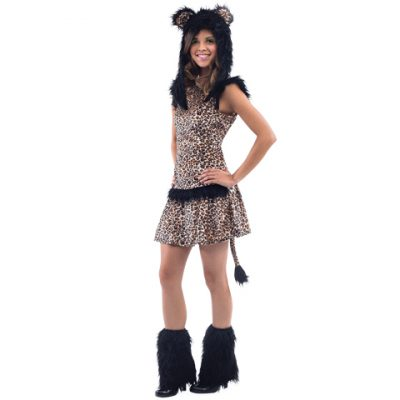 Leopard Costume for Teenage Girls