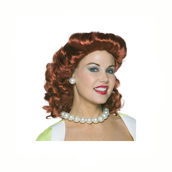 Vintage Housewife Wig 50s Hairstyle
