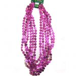 Pink Ribbon Bead Necklace