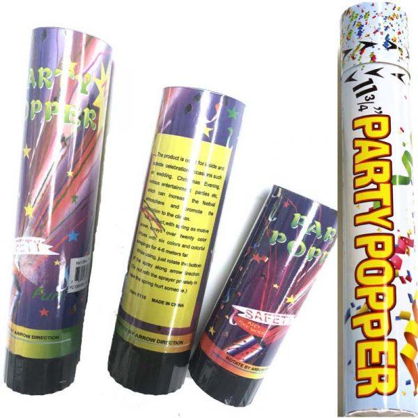 Party Popper Twist Tube Confetti Cannon
