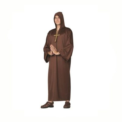 Monk Robe Light Brown