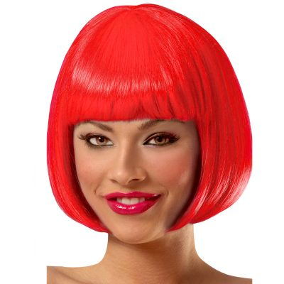 Sassy Wig Short Neon Red Hair
