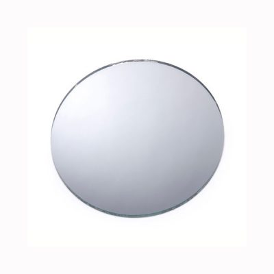 Round Glass Mirror Various Sizes for Crafts or Centerpiece