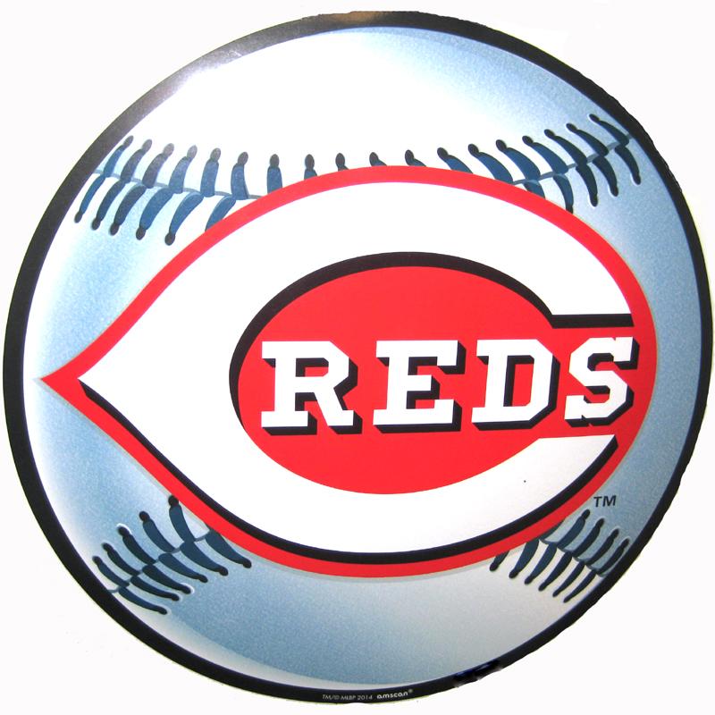 Cincinnati Reds Baseball Cutout