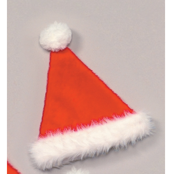 Toddler Size Deluxe Plush Santa Hat