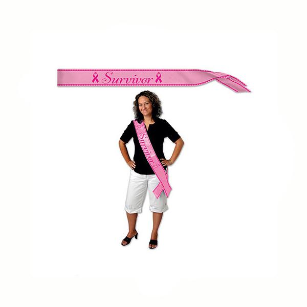 Pink Survivor Sash