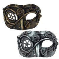 Costume Steampunk Half Mask