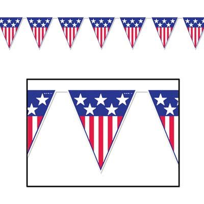 Spirit of America Pennant Banner