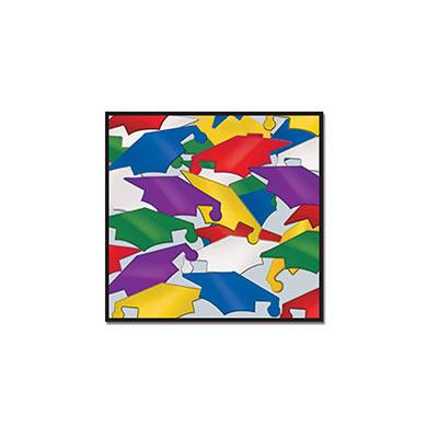 Multi-Color Confetti Graduate Caps