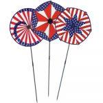 Patriotic Wind Wheels.