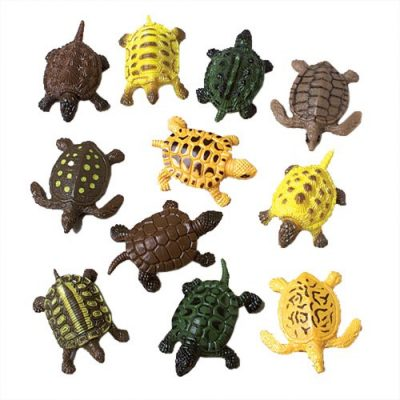Rubber Turtle by the piece or by the dozen