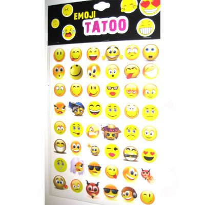 Emoji tattoo