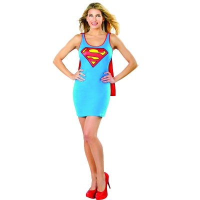 Super Girl Tank Dress Costume