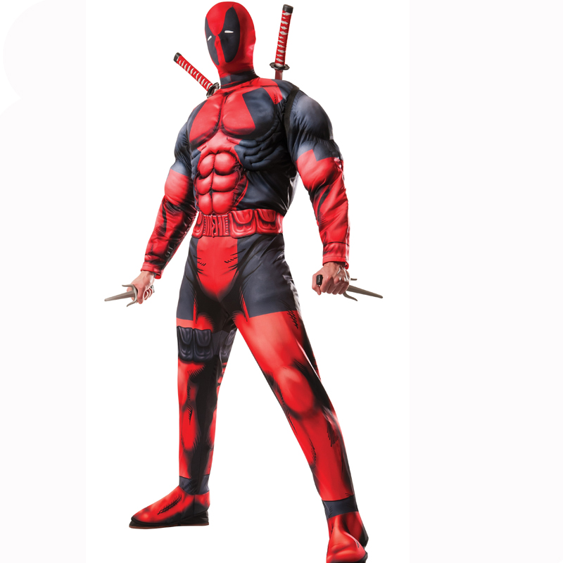Deadpool Deluxe Muscle Costume