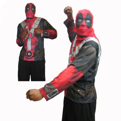 Deadpool Mask and Shirt