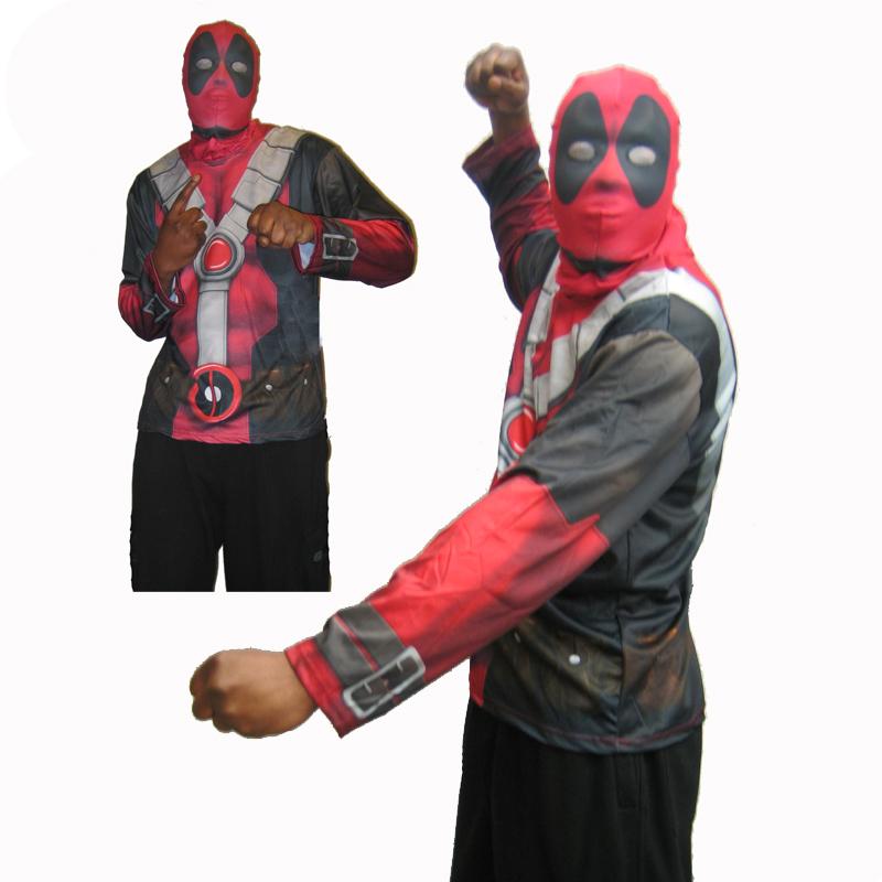 Deadpool Mask and Shirt