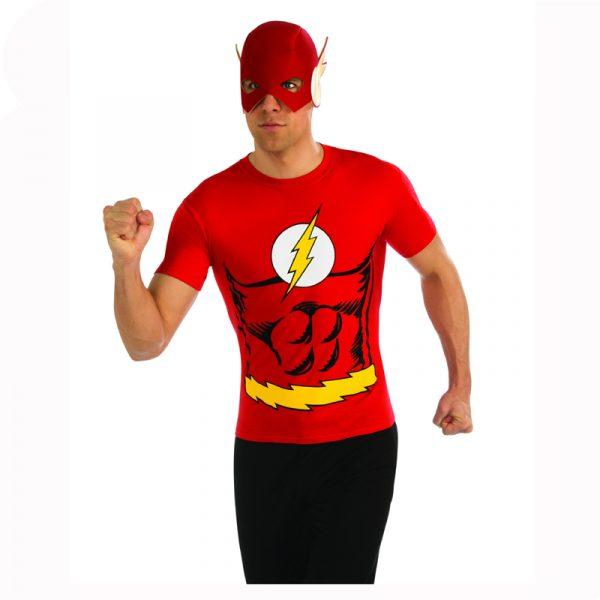 Flash T-Shirt Adult Costume