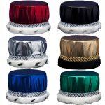 Metallic Fabric Crowns