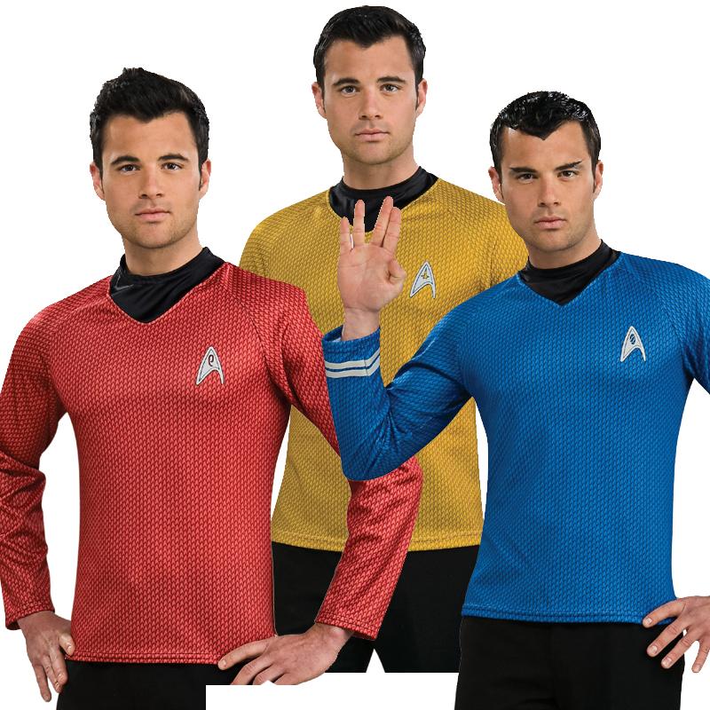 Star Trek Crew  sc 1 st  Cappelu0027s & Buy Star Trek Adult Costumes Scotty Capitain Kirk and Spock - Cappelu0027s