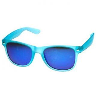 b17092f372  3.99 Select options · Soft Touch Neon Frame Mirror Lens Wayfarer Sunglasses