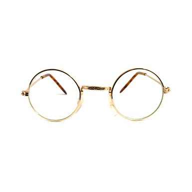 Round Eyeglasses Clear Lens Wire Frames