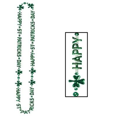 St Patricks Day Beads