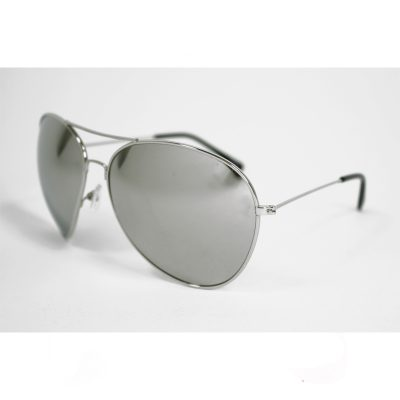 XL Mirror Lens Aviator Sunglasses