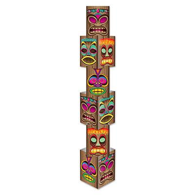 Tiki Column Luau Decoration