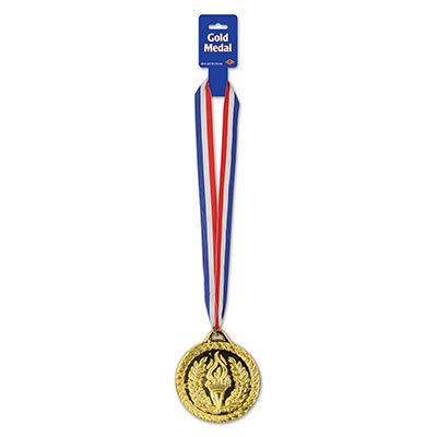"4"" Large Gold Medal"