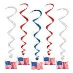 American Flag Whirls