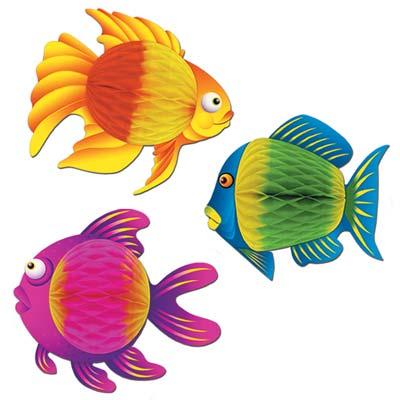 Color-Brite Tropical Fish
