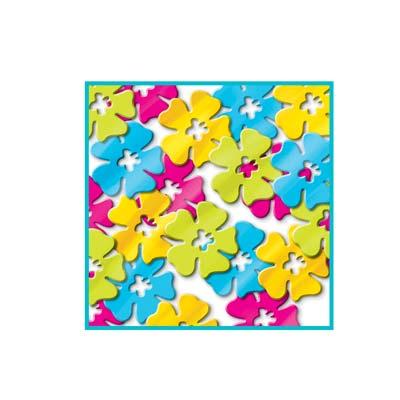 Confetti Hibiscus Flowers