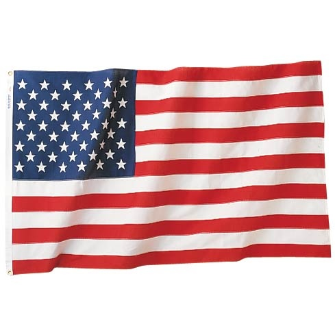 3 ft x 5 ft Nylon US Flag Made in USA