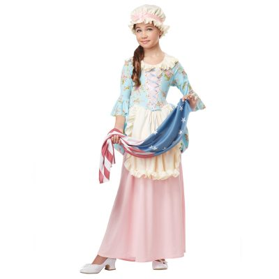 Colonial Lady Betsy Ross Child Size Costume