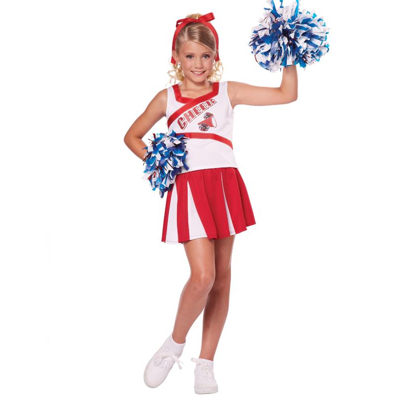 High School Cheerleader Child Size Costume