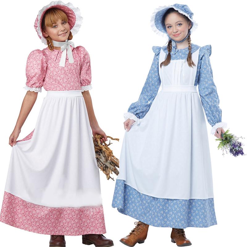 Pioneer Girl or Early American Prairie Girl