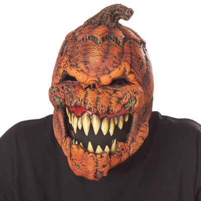 Ani-Motion Dark Harvest Pumpkin Mask
