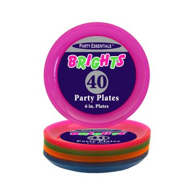 6 inch party plates